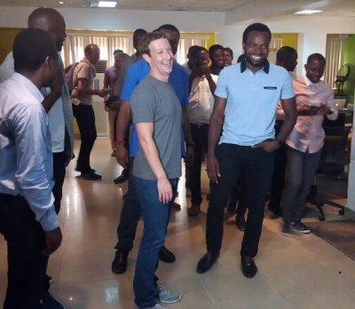 Mark Zuckerberg in Lagos