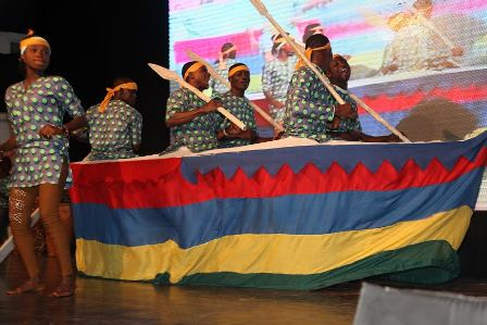 Cultural troupe from Badagry performing