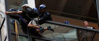Trump tower climber arrested