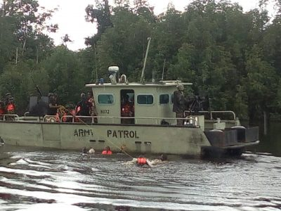 army patrol