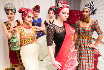 White Naija Girl and her models making a bold statement about African fashion