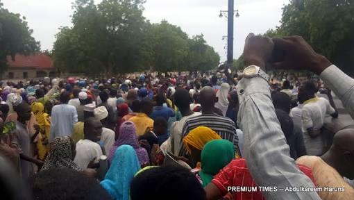 protesting IDPs