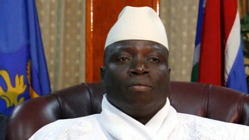 gambian-president Yahaya Jammeh
