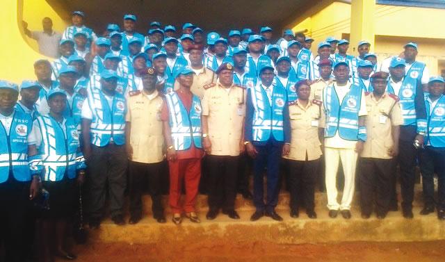 FRSC promotes 15 officers
