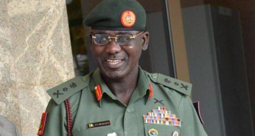 Chief-of-Army-Staff Tukur-Buratai