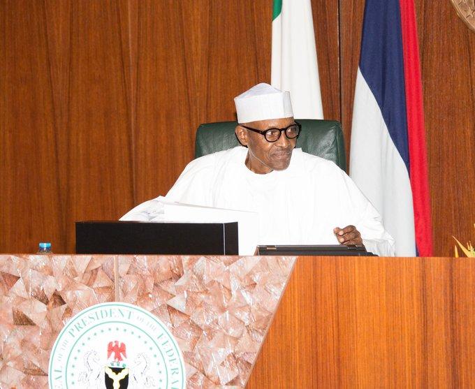 Buhari presiding