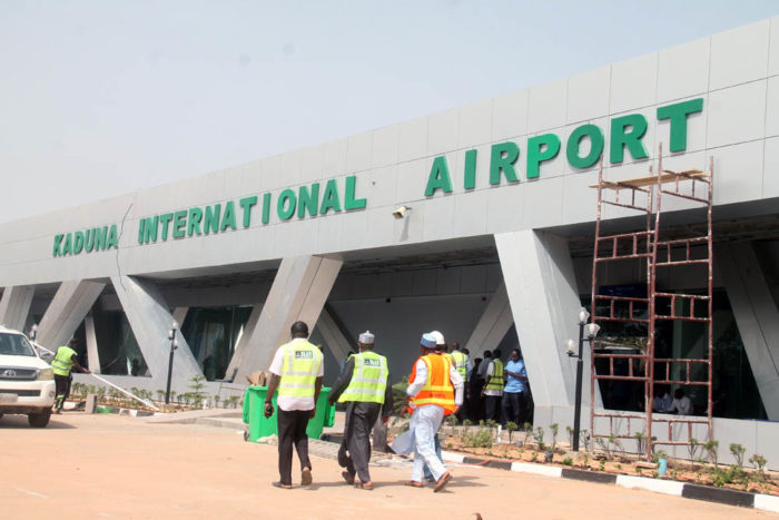 Front view of the Kaduna International Airport