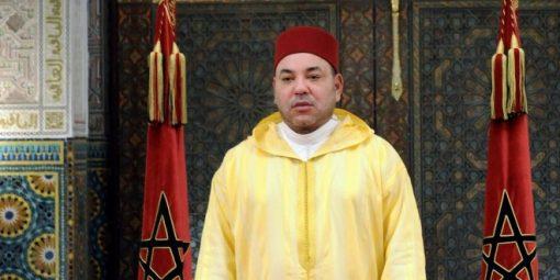 Morocco's King Mohammed