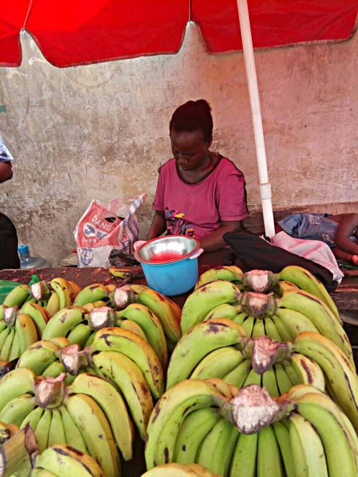 Going bananas at mende maryland