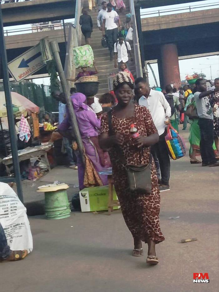 People @ Oshodi Bridge