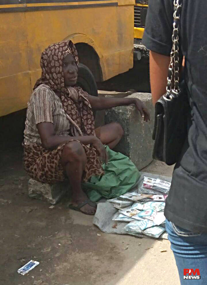 The Sun can't stop Traders at Oshodi Market