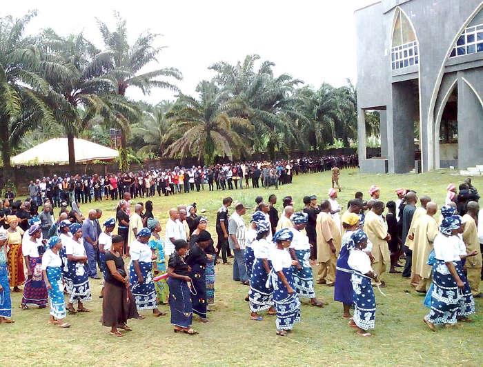 Ahiara-Protests