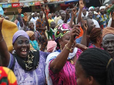 Jubilation over Buhari's return
