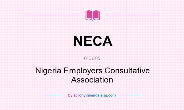 NECA meaning – what does NECA stand for?