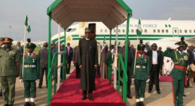 President-Buhari-arrives-Nigeria
