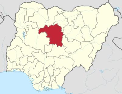 Location of Kaduna State in Nigeria