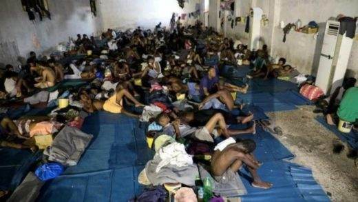 Libyan migrant slaves