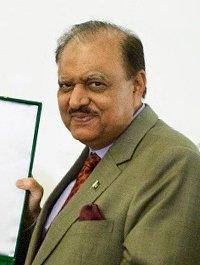 Pakistan President, Mamnoon Hussain