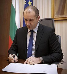 President Rumen Radev of Bulgaria