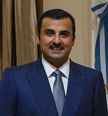 Sheik Tamin bin Hamad AlThani, Emir of Qatar