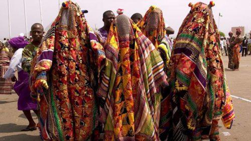 Masquerades-invades-church-in-Ondo