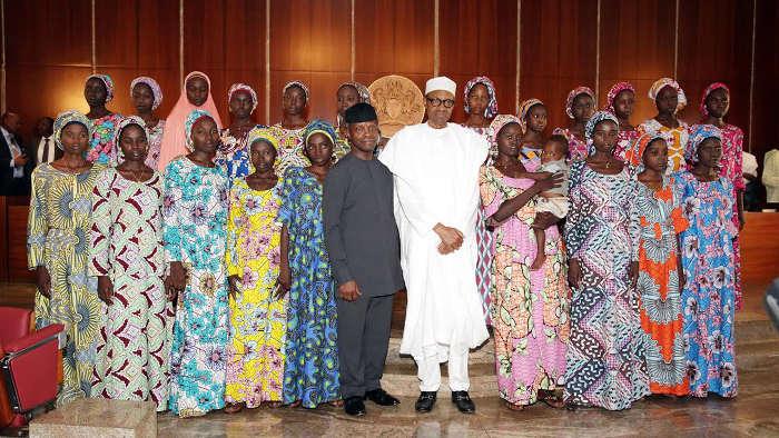 Buhari-with-Chibok-Girls-edited (1)