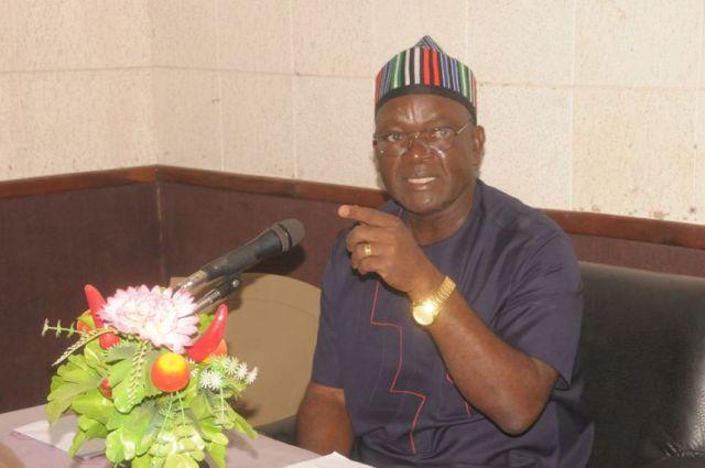 Gov Samuel Ortom of Benue
