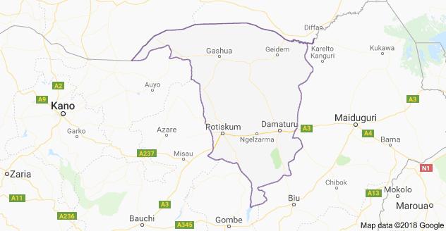 Yobe Map