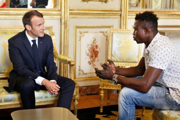 President-Macron-and-Malian-Mamoudu-Gassama-the-Spiderman-e1527538892886