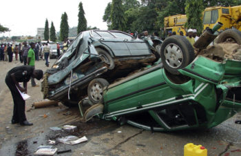 Scene-of-a-road-accident-in-Nigeria