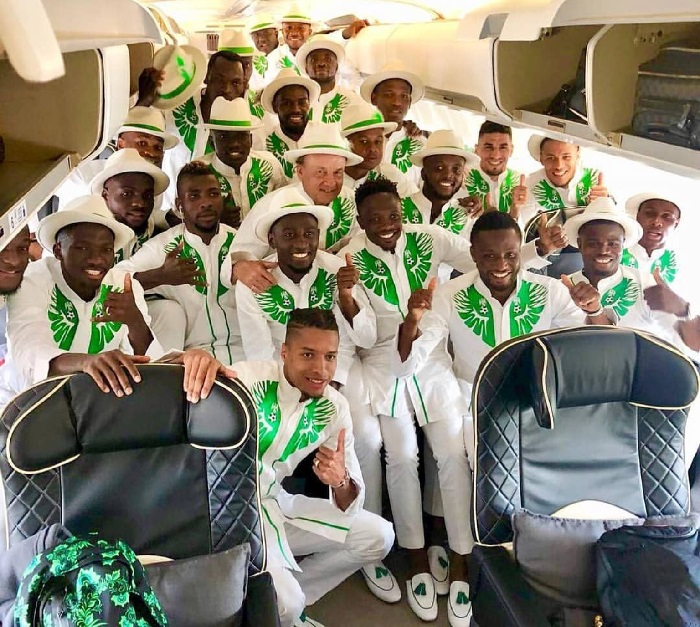 Super Aeagles outfit