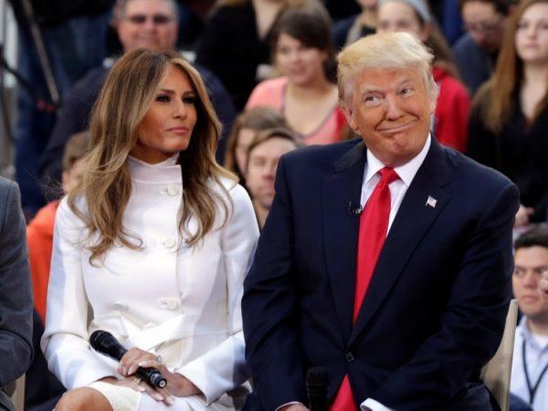 Trump and Melania