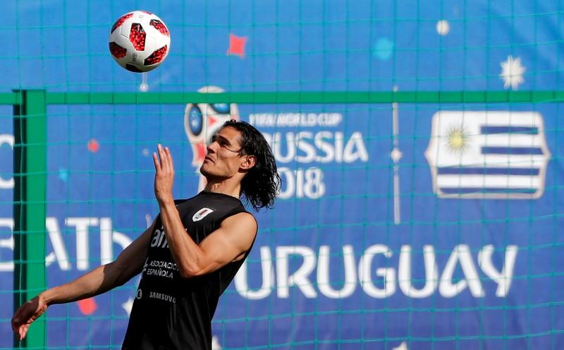 World Cup – Uruguay Training