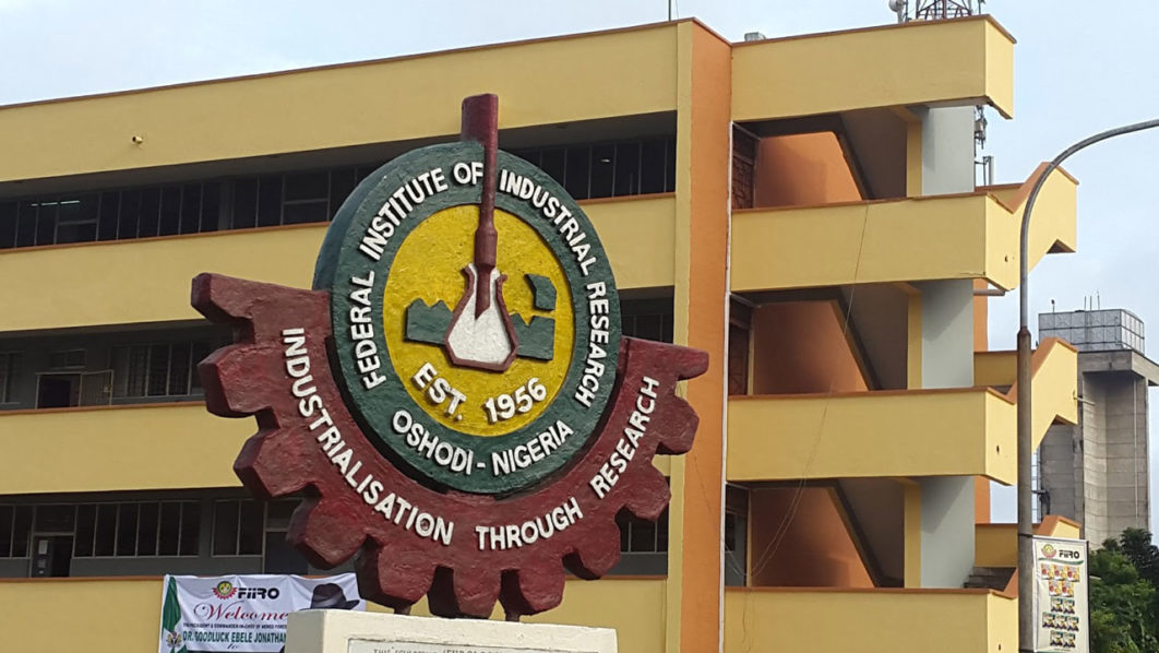 Federal Institute of Industrial, Research (FIIRO)
