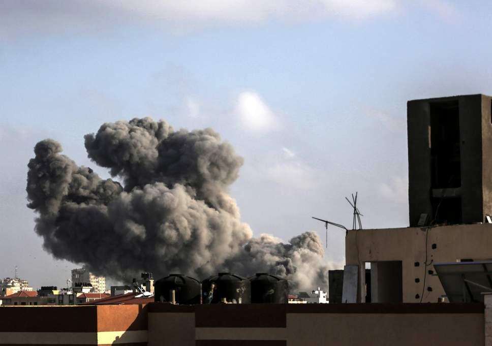 gaza-city-air-strike