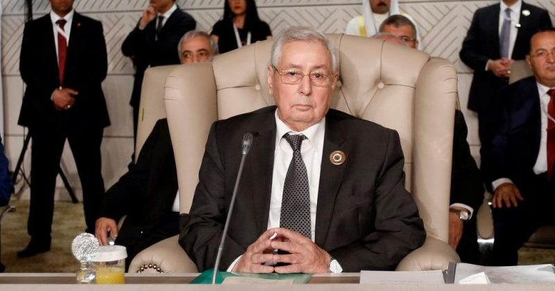 Interim President Abdelkader Bensalah