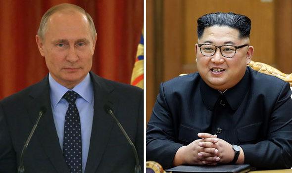 Putin and North Korea leader