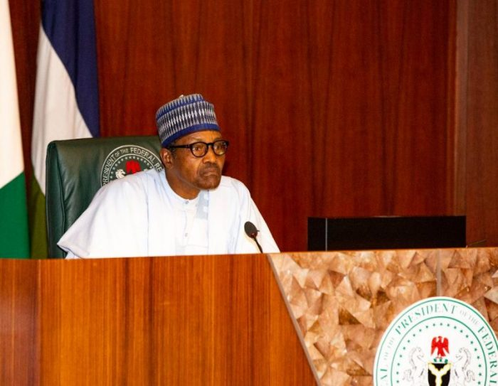 Buhari: in a pensive mood, reflects on the tasks ahead