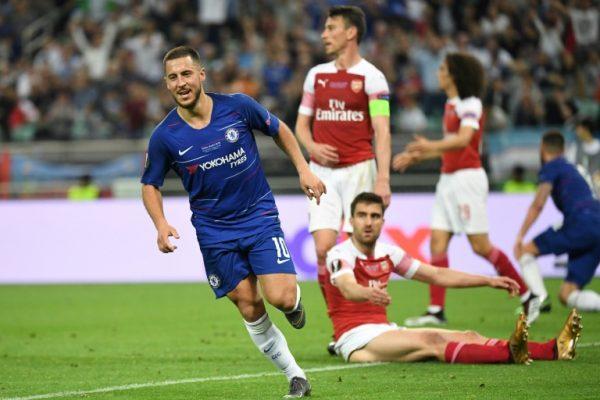 Eden Hazard scores a brace for Chelsea to ruin Arsenal