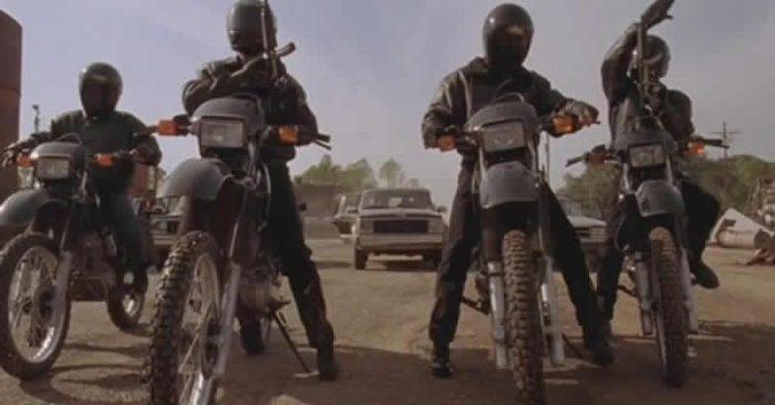 Gunmen on motorcycles