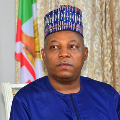 Kashim Shettima, outgoing governor of Borno State: had helped the steward with personal funds