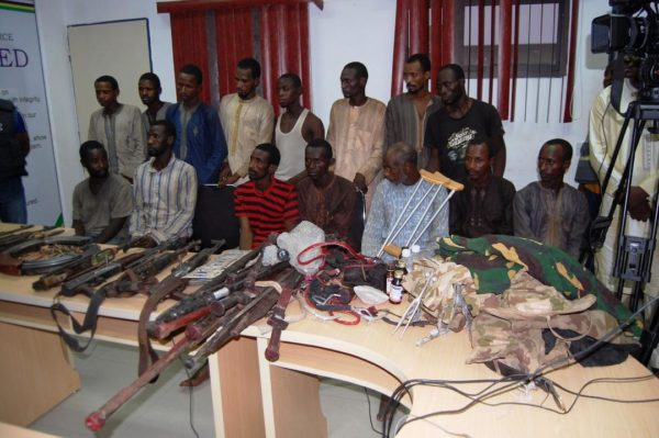 Some-of-the-85-suspected-bandits-arrested-in-Zamfara-by-the-police-e1543611975215