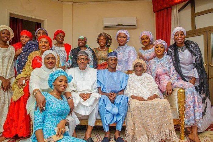 baba buhari and the girls 2