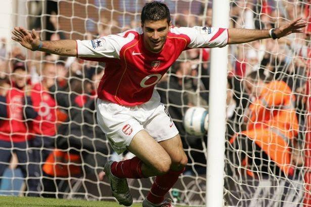 Jose Antonio Reyes in Arsenal colours
