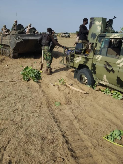 MNJTF troops at Doron Naira