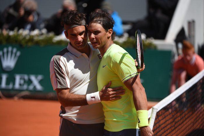 Nadal, Federer in Paris