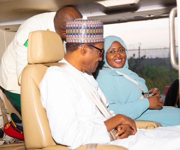 Obasanjo asks Aisha Buhari to engage hubby in pillow talk