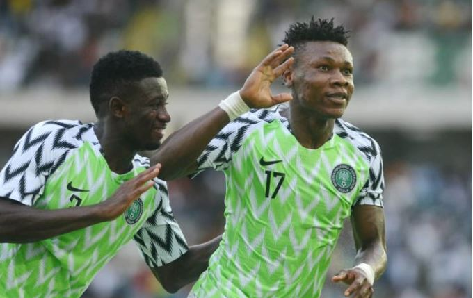 Samuel Kalu: collapses during training with Super Eagles in Alexandria