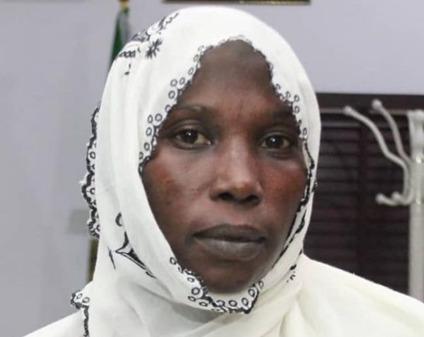 The freed corps member Halima Umar