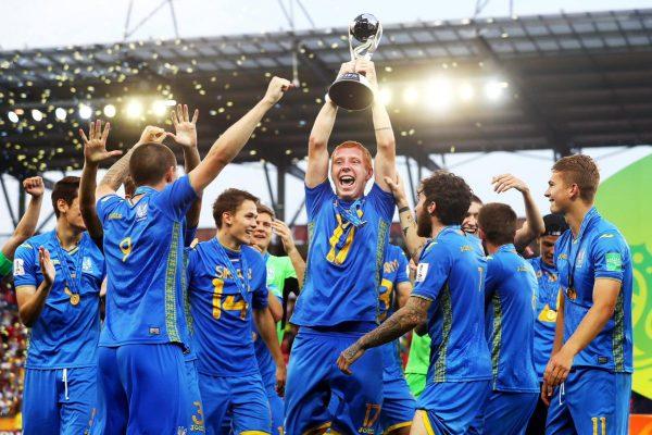 Ukraine lift the U-20 World Cup